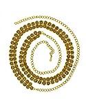 #4: Anuradha Art Golden Finish Classy Studded With Shimmering Stone Kamarpatta Traditional Wedding Kamarband Waist Chain/Belly Chain For Women/Girls