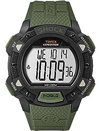 8f6c181119ca Timex TW4B09300JV - Reloj con Base de expedición (Pantalla Grande)