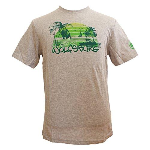 Camiseta de todos los Mar VFL Wolfsburgo gris