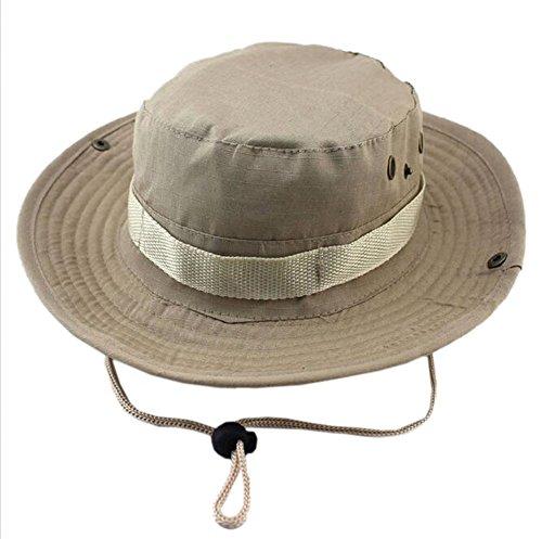 DELEY de Deportes al aire libre Boonie Hat Cap de Camuflaje Militar...