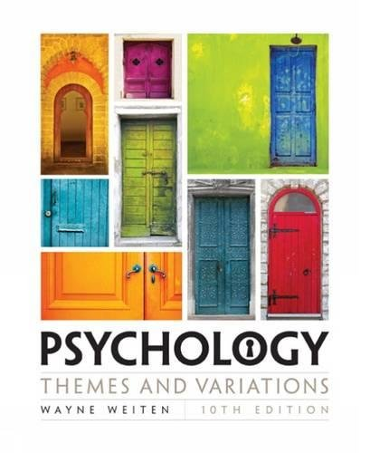 PDF] Download Psychology: Themes and Variations By - Wayne