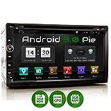 XOMAX XM-2DA758 Autoradio mit Android 9, QuadCore, 2GB RAM, 32GB ROM, GPS Navigation I Support: WiFi WLAN, 3G 4G, DAB+, OBD2 I Bluetooth, 6,9 Zoll / 17,5 cm Touchscreen, DVD/CD, USB, SD, 2 DIN