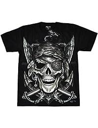 T-Shirt Rock Chang Rock Eagle Heavy Metal Biker Tattoo Rocker Gothic (4000)