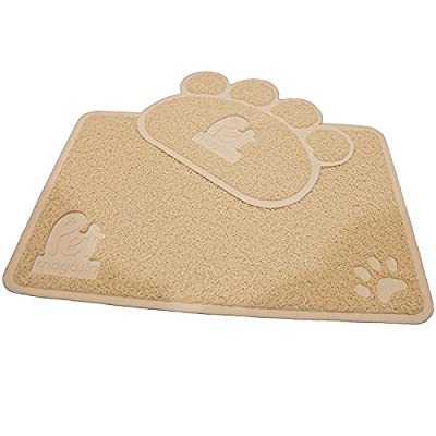 Pet Magasin [Extra 50% OFF This Week Only] Cat Litter Mat (2-Mat Set) - Soft and Durable Pet Litter Mats for Cats, Dogs, and Puppies by (Medium)