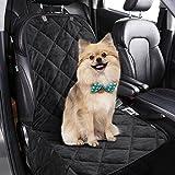 Hundedecke Auto,Komake Hunde Autositz,Hund Sitzbezug,Hundeschutzdecke Auto,Hund Autositzbezug,Autoschondecke für Hunde,Hunde Autodecke,Autoschutzdecke Hund mit Hunde Sicherheitsgurt für PKW KFZ SUV