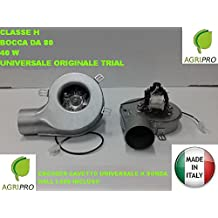 Extractor de humos, estufa, pellet, ventilador + encoder universal, 40 W d