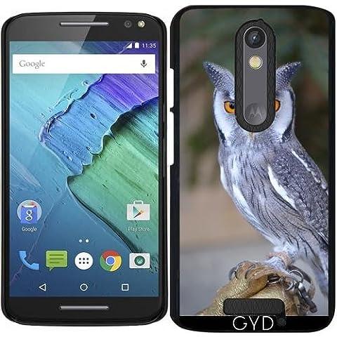 Funda para Motorola Moto X (3 generation) - La Vida Silvestre De Aves Búho Real by