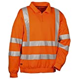 Cofra Warnschutz Pullover Route V112-1 Troyer XXL, in Signalfarbe orange, 40-00V11201-XXL