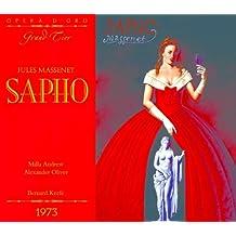 OPD 7015 Massenet-Sapho: French-English Libretto (Opera d'Oro Grand Tier) (French Edition)