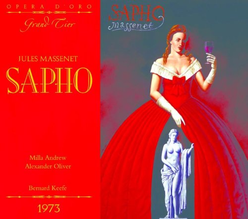 OPD 7015 Massenet-Sapho: French-English Libretto (Opera d'Oro Grand Tier)