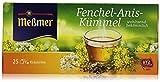 Meßmer Fenchel-Anis-Kümmel, 25 Teebeutel, 50 g