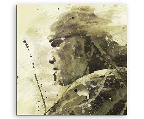 Gears _ of _ War _ 60x 60cm Splash Art Paul Sinus acquerello, Pittura, Arte su tela