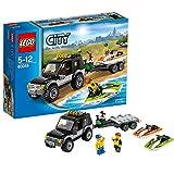 Lego City 60058 - Geländewagen mit Wasserfahrzeugen