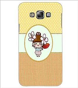 PrintDhaba Cartoon D-4467 Back Case Cover for SAMSUNG GALAXY A7 (Multi-Coloured)