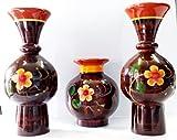Handmade Wooden Flower Wooden Vase Dé...