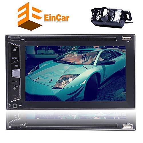 EINCAR Rückfahrkamera inklusive !!! 2 Din Autoradio Audio Stereo DVD CD-Player in der Schlag-Head Unit Autoradio unterstützt 6.2