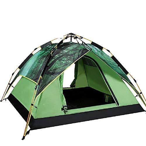 BEANCHEN Outdoor-Double-Layer-Ultralight-Zelt for 3-4 Personen, beweglicher Sonnenschutz und wasserdichte Ausrüstung 145 * 215cm