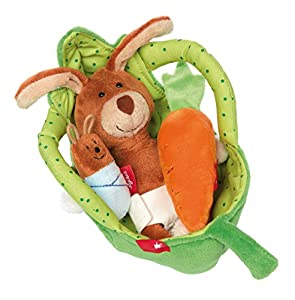 Sigikid sigikid4168722x 12x 11cm, diseño en la Hoja bebé Conejo