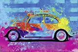 Poster Parker Greenfield - Splash Buggy Beetle (91,5cm x 61cm)