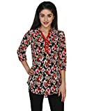LOL Fabulous Red Georgette Floral Casual...