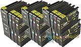 The Ink Squid 6 Sets von Hp950Xl und Hp951Xl dreifarbig und schwarz - hohe Kapazität - Tintenpatrone kompatibel mit Hp vonficejet Pro 8100 8600 8600 Plus und 8600 Premium