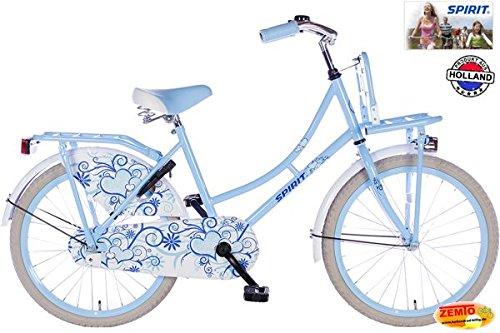 Mädchenrad Spirit Omafiets 20 Zoll blau