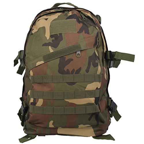 Imagen de 3d bolsa de viaje táctica senderismo  de escuela militar a prueba de agua 40l  selva, /