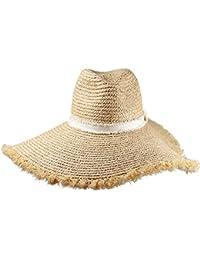Cappello da Sole da Donna Cappello - Cappello Estivo da Donna Cappello di  Paglia Protezione UV per la… 9f69f6c3998c