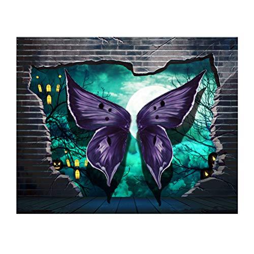 Vosarea Halloween Malerei 5D Diamant Stickerei Halloween Kreuzstich Druck Handwerk Haus Dekoration Wand (Halloween Handwerk Wand-dekoration)