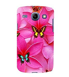 printtech Butterfly Flowers Back Case Cover for Samsung Galaxy E5 / Samsung Galaxy E5 E500F