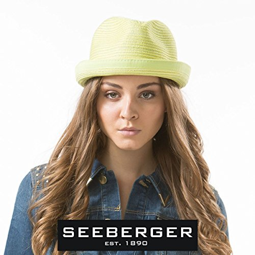 Seeberger - Chapeau porkpie Unisexe Fuchsia