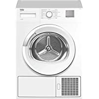 Beko DTGC8011W Freestanding B Rated Condenser Tumble Dryer - White