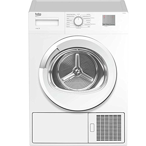 Beko DTGC8011W Freestanding B Rated Condenser Tumble Dryer in White