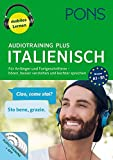PONS Audiotraining Plus Italienisch: Für Anfänger und Fortgeschrittene - hören, besser verstehen u. leichter sprechen