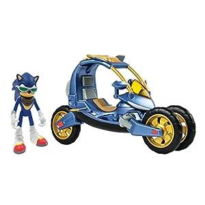 SONIC The Hedgehog Blue Force One Juguetes coleccionables Boom Figura de acción y vehículo Playset | Adecuado para niños, niños y niñas de 4, 5, 6, 7 años de Edad