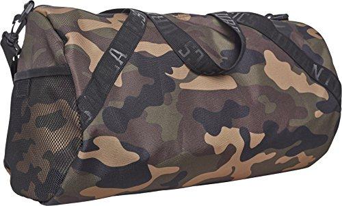Urban Classics Sports Bag Sporttasche, 43 cm, 23, 4 L, Wood Camo -