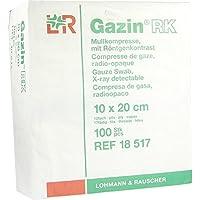 GAZIN Mullkomp.10x20 cm unsteril 12fach RK 100 St Kompressen preisvergleich bei billige-tabletten.eu