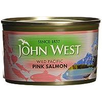 905ecf97e3968 John West Pink Salmon Wild Pacific - 6 Paquetes de 213 gr - Total  1278