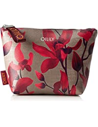 Oilily Damen Jolly Cosmeticpouch Mhz 1 Clutch, Rot (Dark Red), 7 x 18 x 28 cm