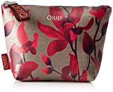 Oilily Damen Jolly Cosmeticpouch Mhz 1 Clutch, Rot (Dark Red), 7x18x28 cm