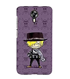 EPICCASE Hatted Villain character Mobile Back Case Cover For Micromax Canvas Express-2 (Designer Case)