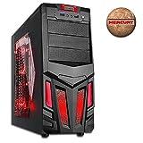 DILC MERCURY | PC DESKTOP GAMING | ASSEMBLATO COMPLETO | PLANETS SERIES | COMPUTER FISSO AMD AM4 A6 9500 FINO A 3.8 GHZ | SK VIDEO RADEON R5 (integrata) | RAM DDR4 8 GB | HARD DISK 1 TB | MASTERIZZATORE | USB 3.0 | 450W 80PLUS CERTIFICATO | SISTEMA OPERATIVO WINDOWS