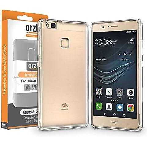 Orzly® - FlexiCase para HUAWEI P9 LITE SmartPhone (2016 Version - 5,2 Pulgadas Modelo Teléfono Móvil) - Funda Protectora de Gel Flexible - 100%