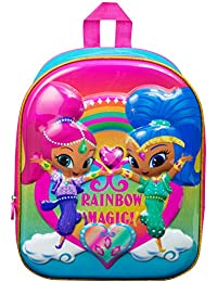 Shimmer and Shine 3D  Rainbow Magic  Luxury High Gloss EVA Backpack  Book  bag ec57fea6f339a
