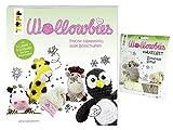 Wollowbies Häkelset Schantall Schaf & Buch Wollowbies Freche Häkelminis, süße Botschaften