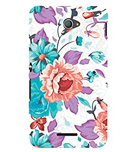 GADGET LOOKS PRINTED BACK COVER FOR SONY XPERIA E4 MULTICOLOUR