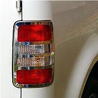 Unks1187 in acciaio INOX cromato, per Set di fanali posteriori per VW Caddy 2010>)