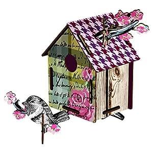 MIHO Bird House Medium - Romantic Resort Wall Decor