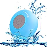 Neuftech Bluetooth Cassa Altoparlante Impermeabile da Doccia - Wireless Speaker Waterproof