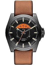 f58dba052160 Diesel correa de reloj DZ1660 Cuero Marrón 24mm(Sólo reloj correa - RELOJ  NO INCLUIDO